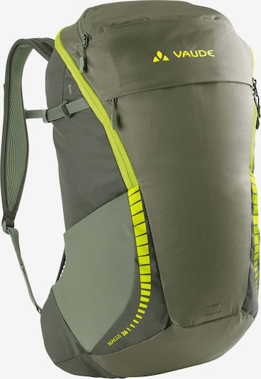 VAUDE Sports Backpack 'Magus 26' in Khaki / Neon green, Item view
