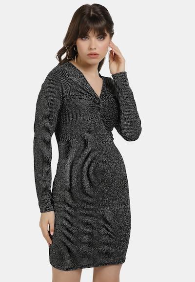myMo at night Kleid in schwarz / silber, Modelansicht