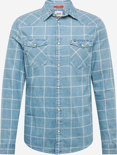 Tommy Jeans Overhemd in de kleur Indigo, Productweergave