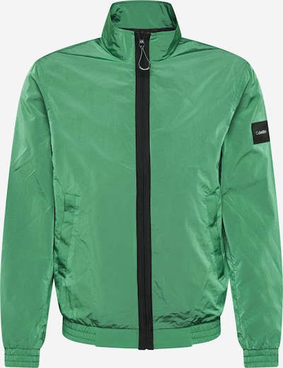 Calvin Klein Prehodna jakna | zelena barva: Frontalni pogled