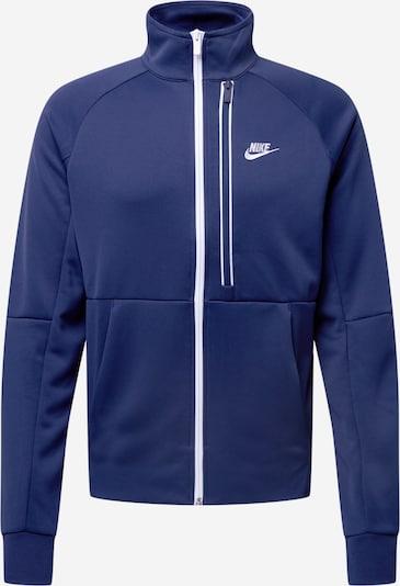 Nike Sportswear Collegetakki 'Tribute' värissä laivastonsininen / valkoinen, Tuotenäkymä