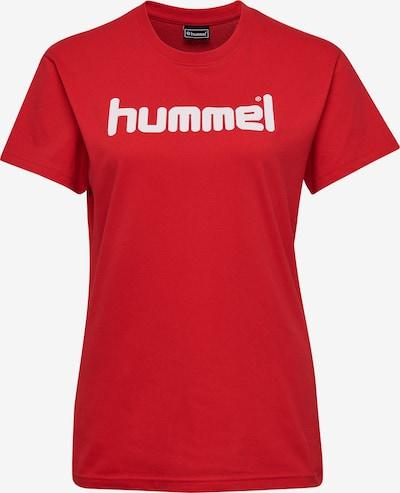 Hummel Functioneel shirt in de kleur Rood / Wit, Productweergave
