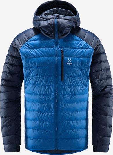 Haglöfs Veste outdoor 'Spire Mimic' en bleu / blanc, Vue avec produit