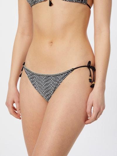 watercult Bikinibroek in de kleur Zwart / Wit, Modelweergave