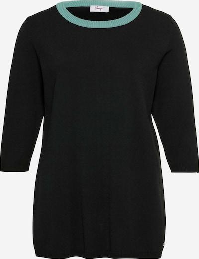 SHEEGO Pull-over en noir, Vue avec produit