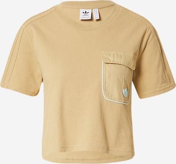 ADIDAS ORIGINALS Koszulka w kolorze beżowy