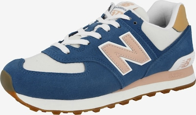 new balance Sneaker in beige / blau / cognac / puder, Produktansicht