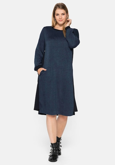 SHEEGO Kleid in blau, Modelansicht