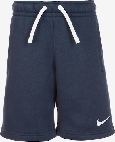 NIKE Trainingsshort 'Club19' in marine / weiß, Produktansicht