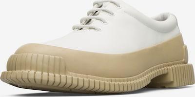 CAMPER Schnürschuh ' Pix ' in beige / weiß, Produktansicht