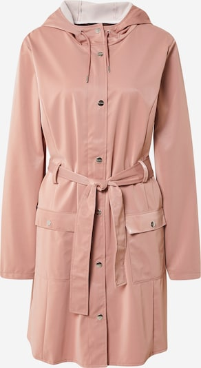 RAINS Between-season jacket 'Curve' in Dusky pink, Item view