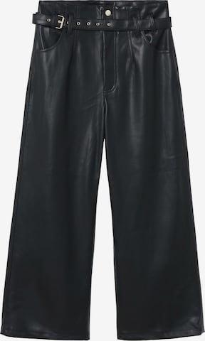 MANGO Pants 'PALAU' in Black