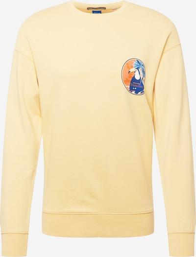 JACK & JONES Mikina - námornícka modrá / svetlomodrá / žltá / oranžová / biela, Produkt