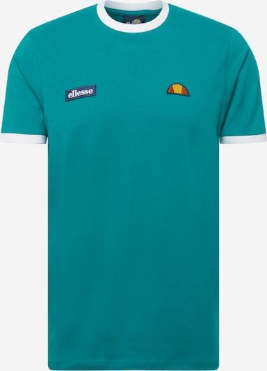 Marškinėliai iš ELLESSE, spalva – benzino spalva / balta, Prekių apžvalga