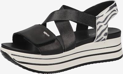 IGI&CO Sandale in schwarz / weiß, Produktansicht