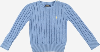 POLO RALPH LAUREN Pullover 'CABLE' in rauchblau / hellgelb, Produktansicht