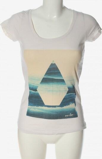 Volcom Print-Shirt in XS in blau / wollweiß, Produktansicht