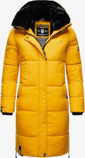 MARIKOO Mantel in gelb / schwarz, Produktansicht