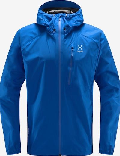 Haglöfs Jacke 'L.I.M' in blau / weiß, Produktansicht