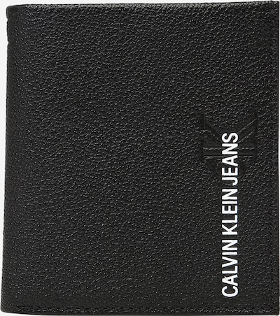 Calvin Klein Jeans Naudas maks, krāsa - melns / balts, Preces skats