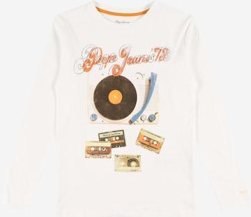 T-Shirt 'ADAN' Pepe Jeans en blanc