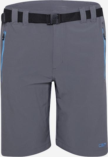 CMP Outdoorbroek in de kleur Smoky blue / Stone grey / Zwart, Productweergave
