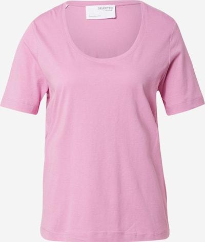 SELECTED FEMME T-Shirt 'Standard' in mauve, Produktansicht
