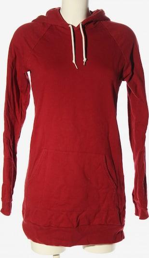 American Apparel Kapuzensweatshirt in XS-XL in rot, Produktansicht
