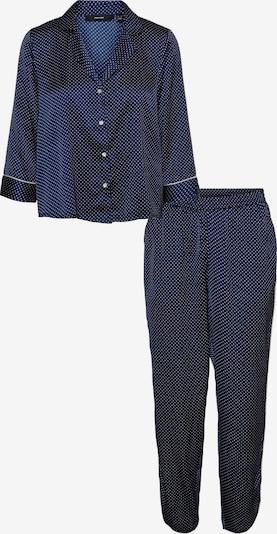 VERO MODA Pajama 'Beate' in Navy / White, Item view