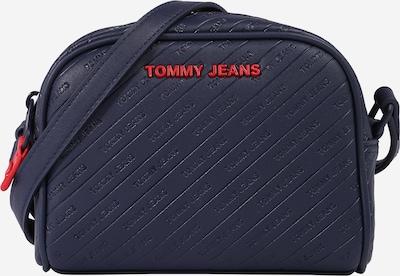 Tommy Jeans Pleca soma, krāsa - tumši zils / sarkans, Preces skats