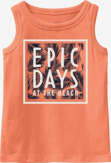 NAME IT Koszulka 'Vagno' w kolorze koralowy / czarny / białym, Podgląd produktu