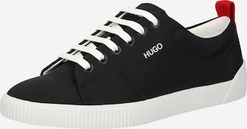 HUGO Sneaker low 'Tenn' i svart