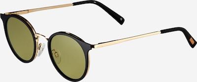 LE SPECS Solglasögon 'TORNADO' i guld / grön / svart, Produktvy