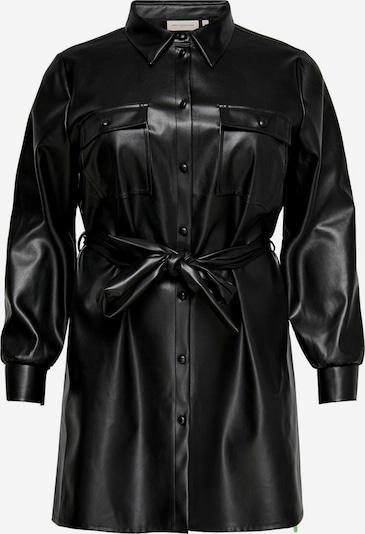 ONLY Carmakoma Blusenkleid in schwarz, Produktansicht