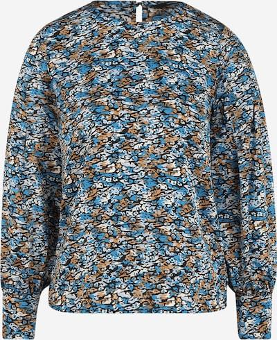 Vero Moda Petite Блуза 'LULU' в синьо / кафяво / черно / бяло, Преглед на продукта
