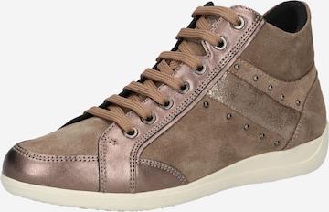 GEOX High-Top Sneakers 'MYRIA' in Beige