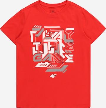 sarkans 4F Sporta krekls