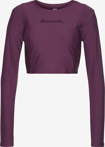 BENCH Functioneel shirt in Lila