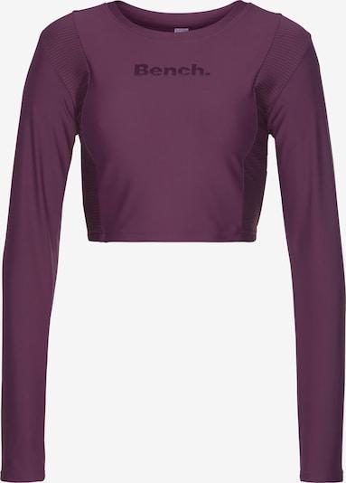 BENCH Camiseta funcional en lila / blanco, Vista del producto
