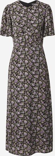 Fashion Union Kleid 'SIENNA' in oliv / lila / schwarz, Produktansicht