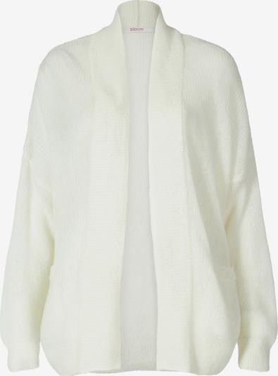 BLOOM Cardigan aus Woll-Mix in weiß, Produktansicht