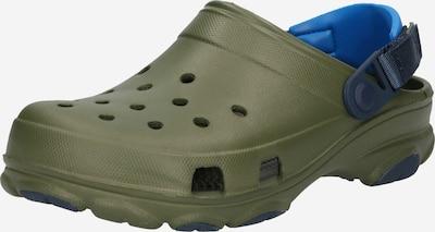 Crocs Clogs in marine / türkis / oliv, Produktansicht