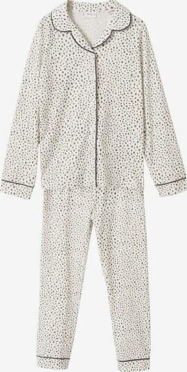 MANGO KIDS Pajamas in Dark grey / mottled white, Item view