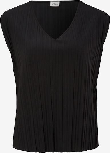 s.Oliver BLACK LABEL Bluse in de kleur Zwart, Productweergave