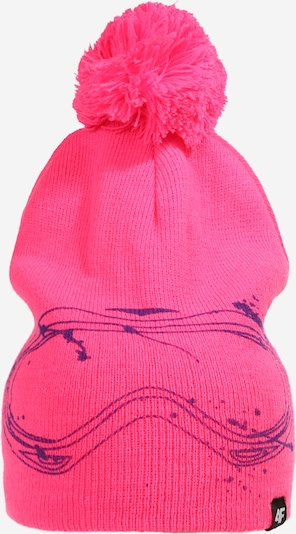 4F Czapka sportowa w kolorze ciemnofioletowy / różowym, Podgląd produktu