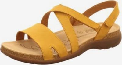 JOSEF SEIBEL Sandale in gelb, Produktansicht