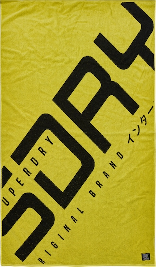 Superdry Strandlaken in de kleur Neongeel, Productweergave