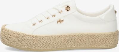 MEXX Låg sneaker 'CHEVELIJN' i vit, Produktvy