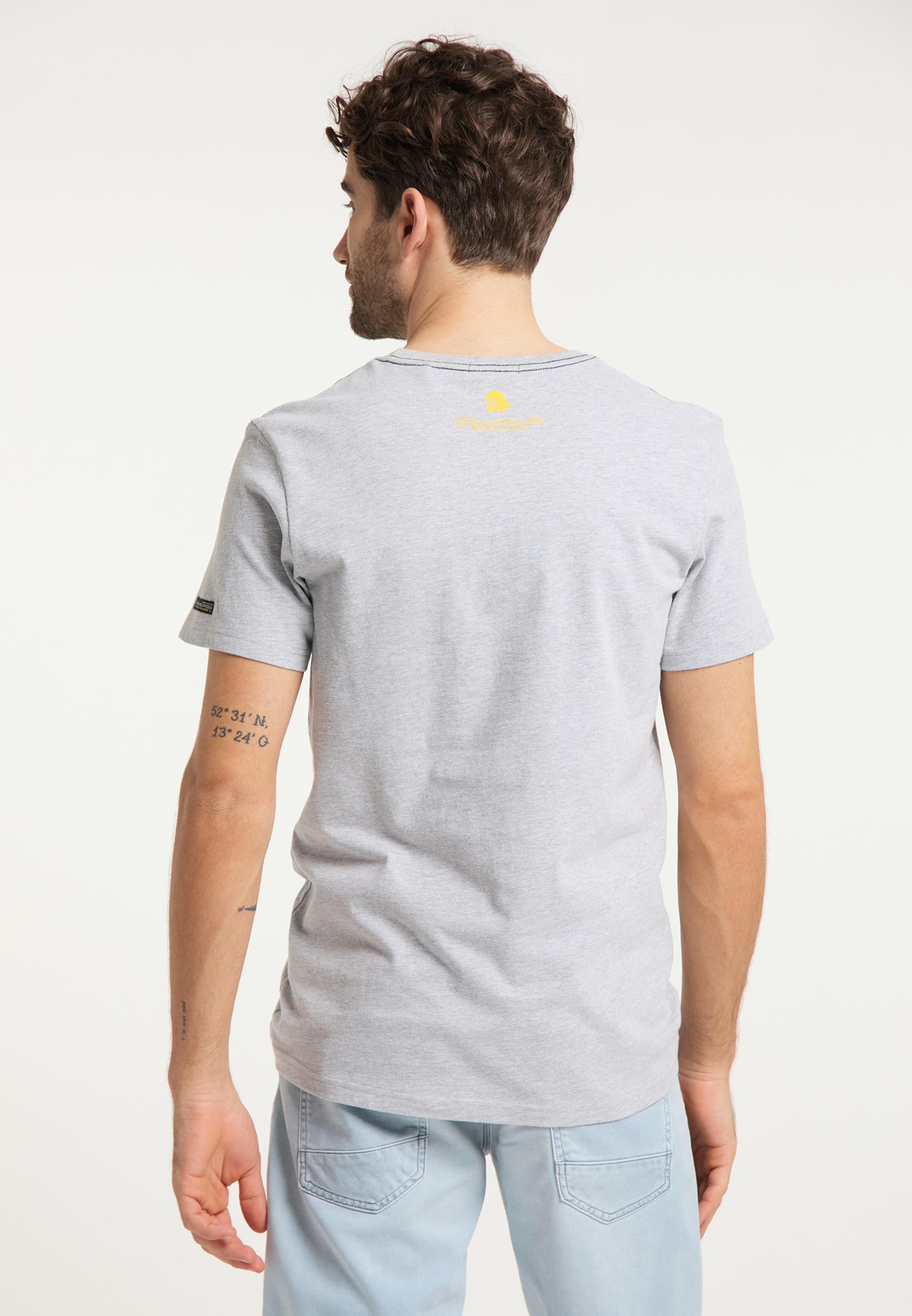 Schmuddelwedda T-Shirt in grau Jersey 4063523024232