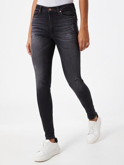 Džinsai 'SYLVIA' iš Tommy Jeans , spalva - juodo džinso spalva: Vaizdas iš priekio